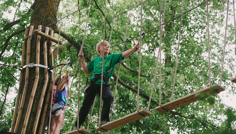 Go Ape's Tree Top Junior Course