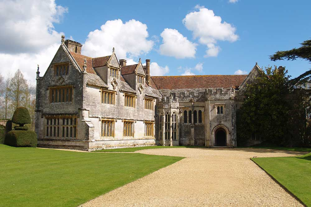 Athelhampton House and Gardens near Dorchester, Dorset