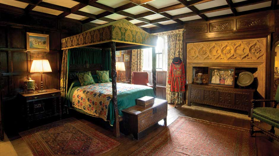The State Bedroom at Athelhampton House