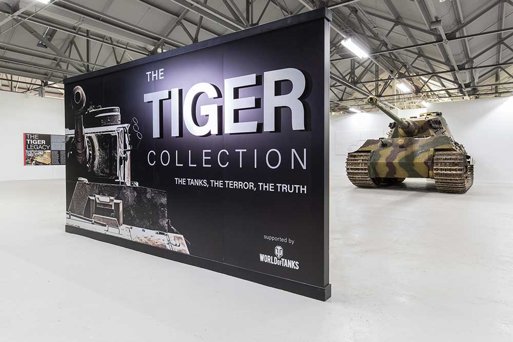 The Tiger Collection Exhibition At The Tank Museum