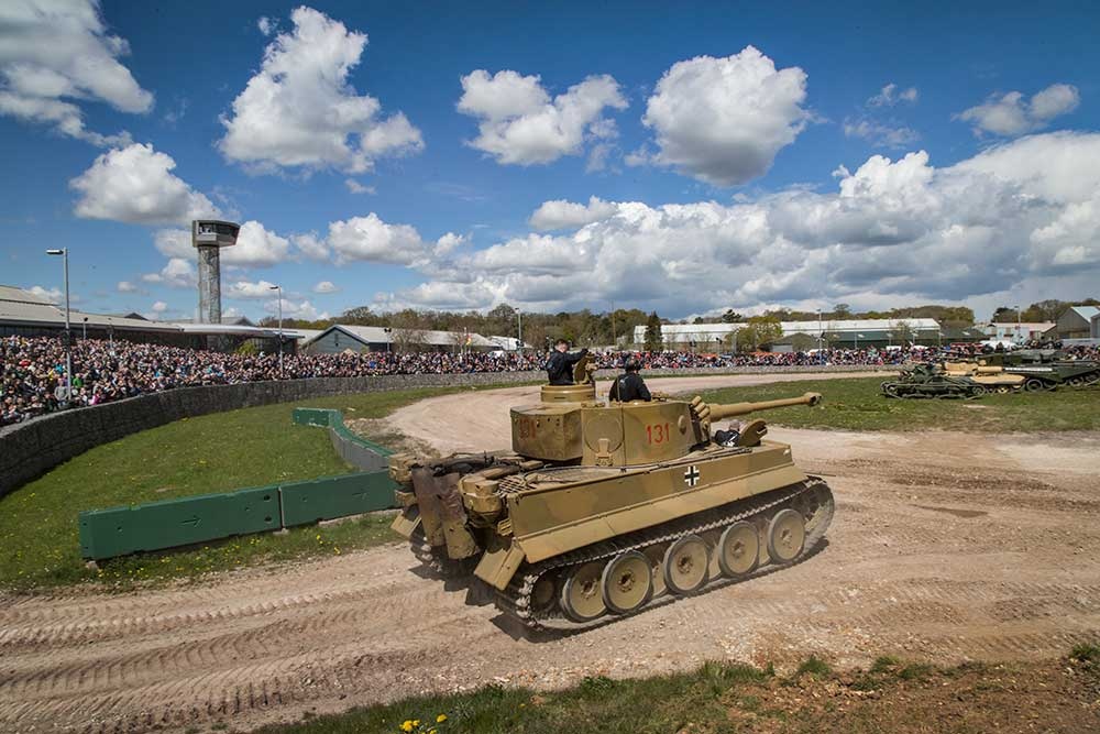 Tiger Day 2016 at The Tank Museum