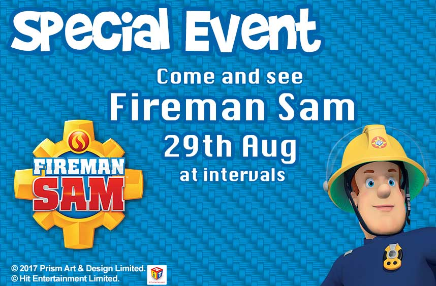 Fireman Sam At Adventure Wonderland On 29th August 2017