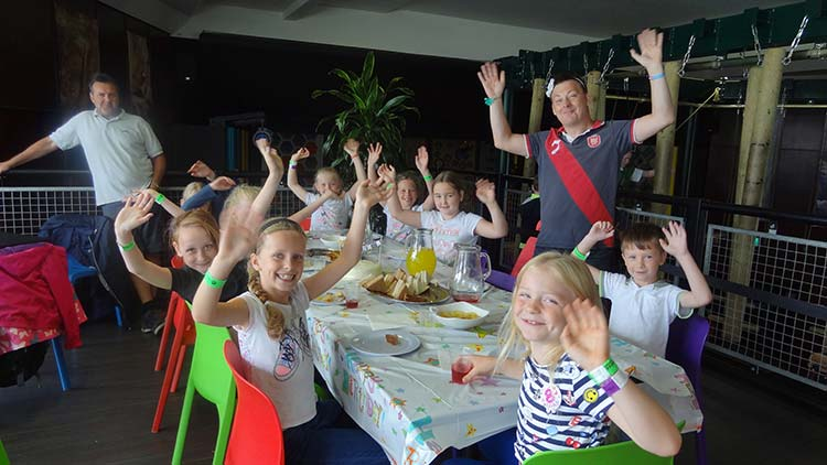Rockreef Children's Birthday Party
