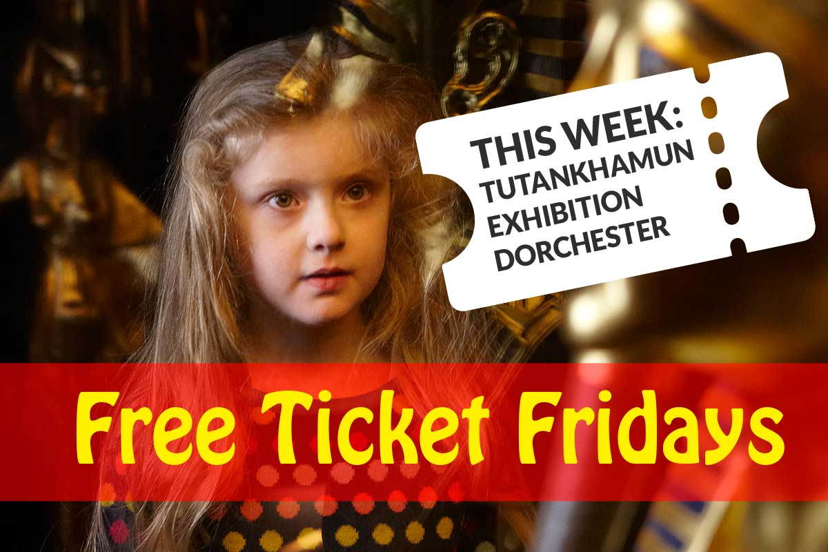 Free Ticket Fridays - Tutankhamun Exhibition in Dorchester