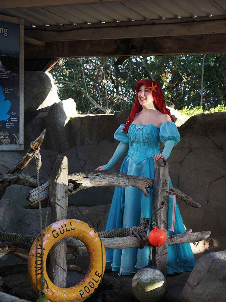 The Little Mermaid Makes A Surprise Visit To Weymouth SEA LIFE