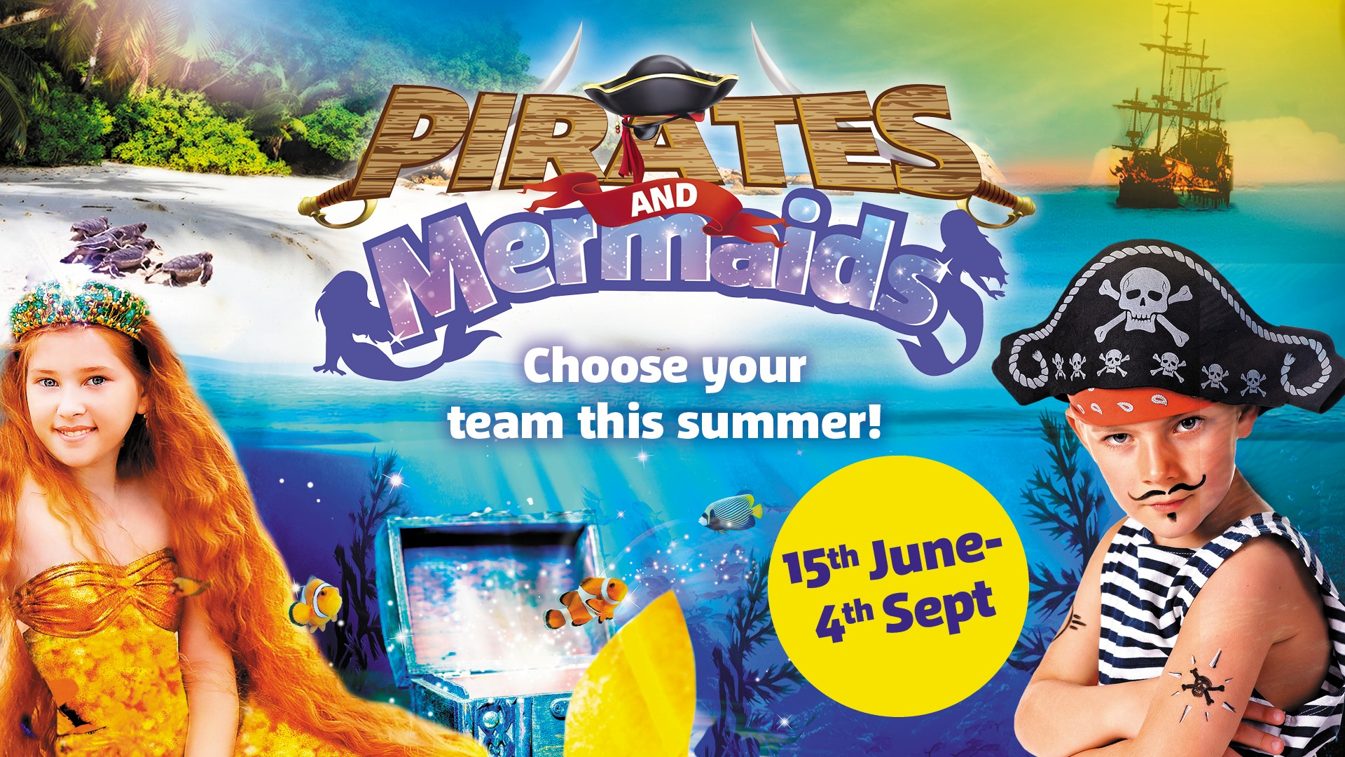 Pirates & Mermaids At Weymouth SEA LIFE Adventure Park