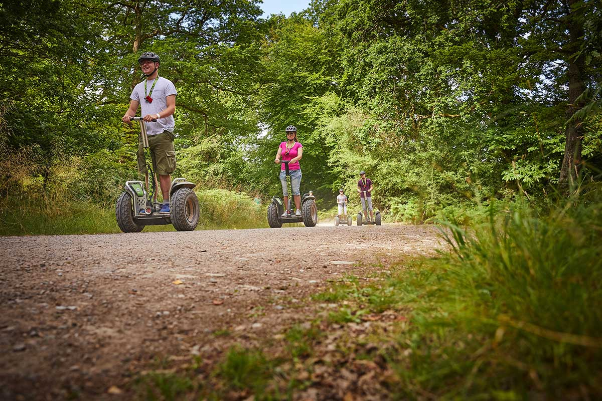 Segways at Go Ape Moors Valley