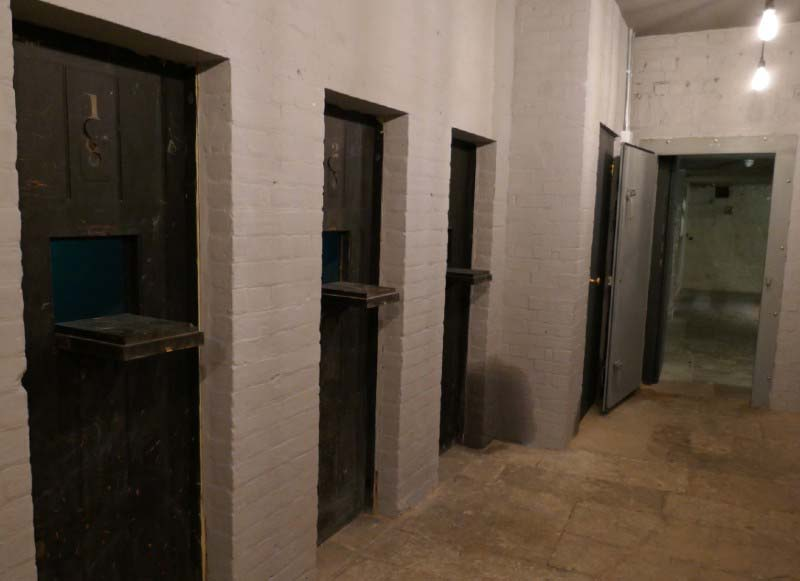 Shire Hall jail rooms