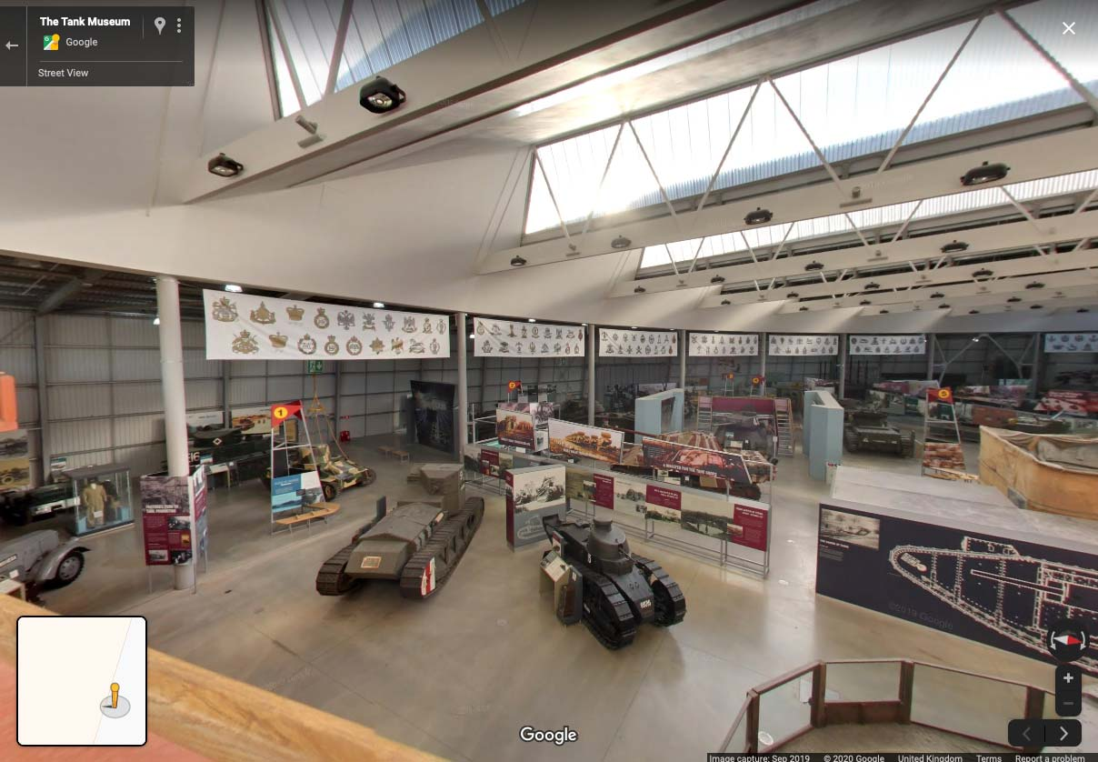 Google Street View Comes To The Tank Museum