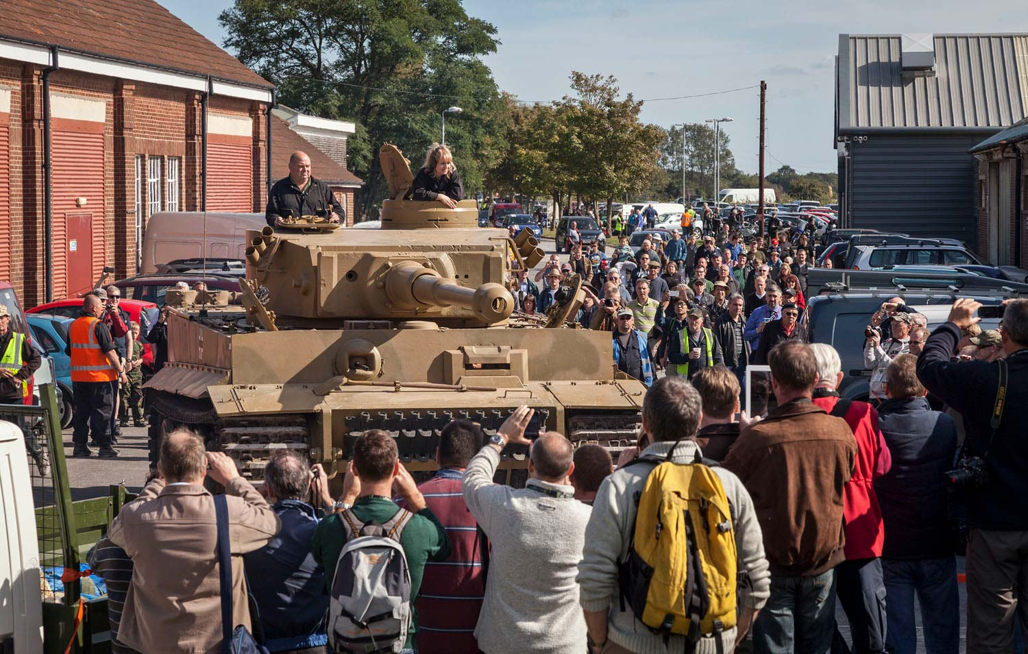 Win A Ride In A Tiger 131 Tank During Tiger Day At The Tank Museum In Dorset