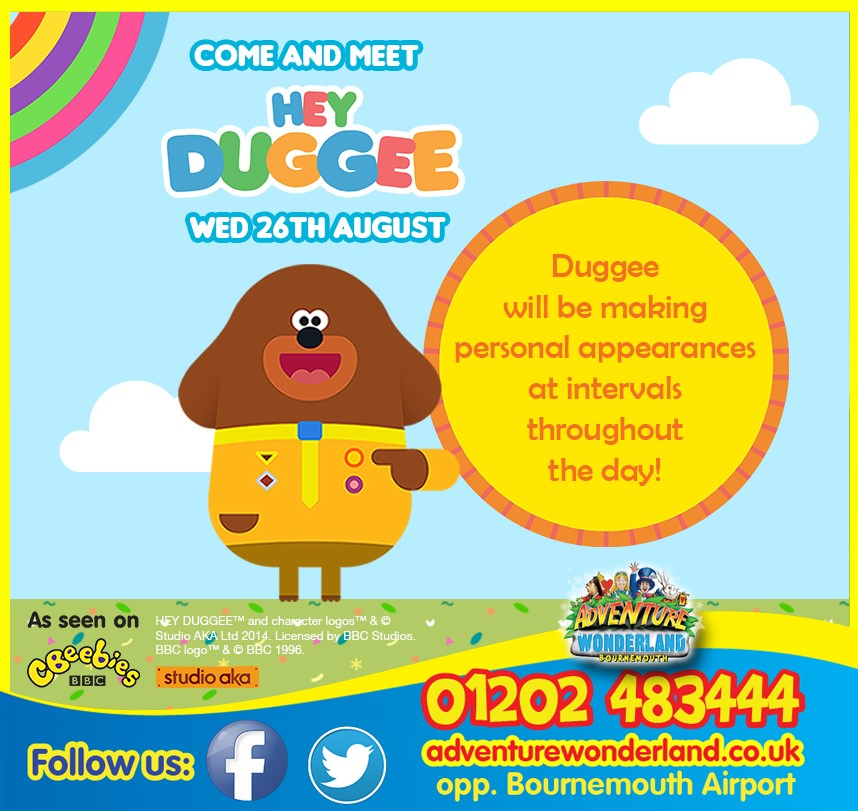 Hey Duggee At Adventure Wonderland