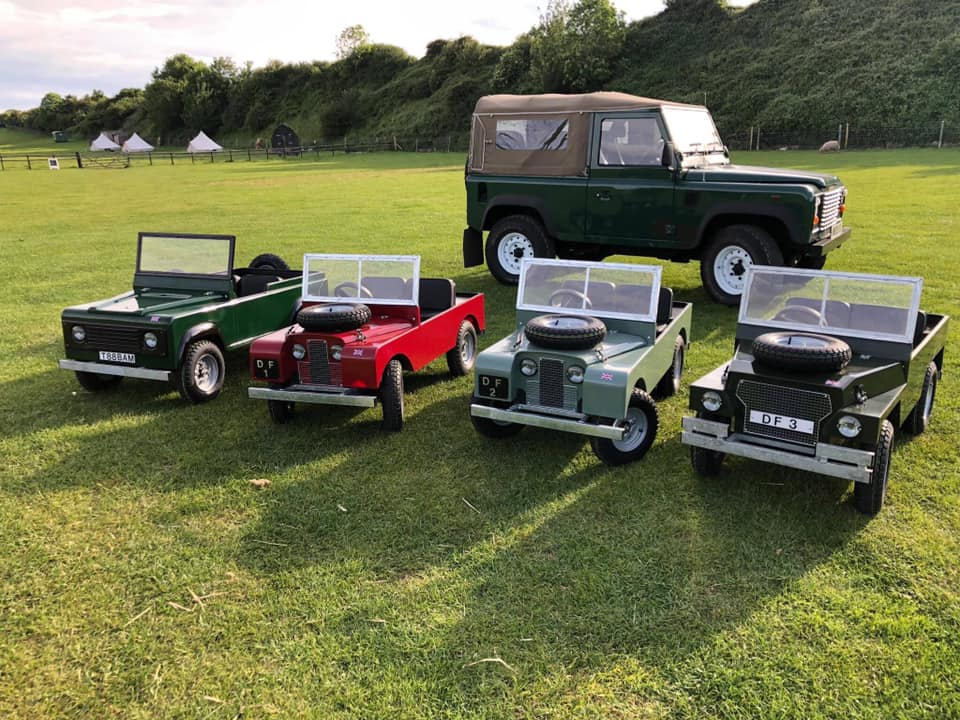 Mini Land Rover Driving This October Half Term!