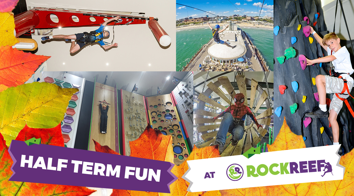October Half Term Fun At RockReef And PierZip