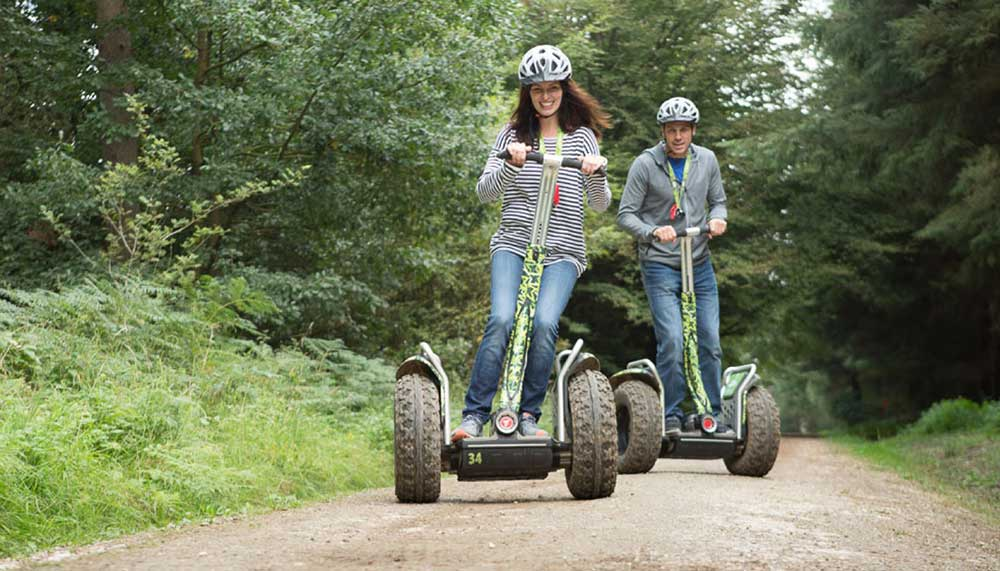 Family Segway Experience at Go Ape Moors Valley
