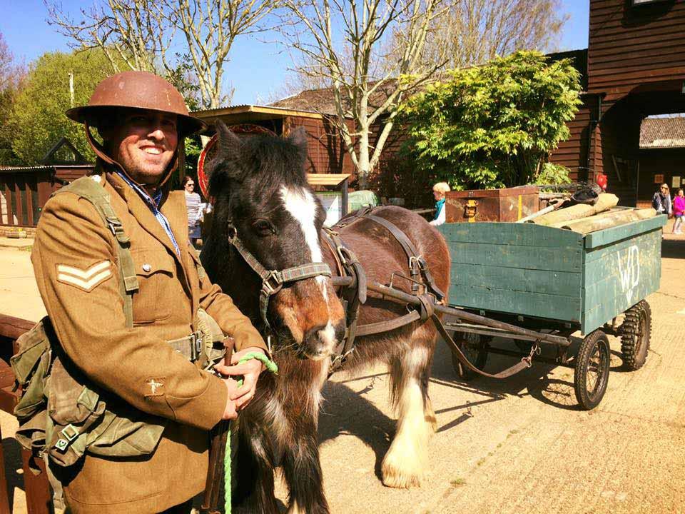 Joey and Ashley at Dorset Heavy Horse Farm ParkJoey and Ashley at Dorset Heavy Horse Farm Park