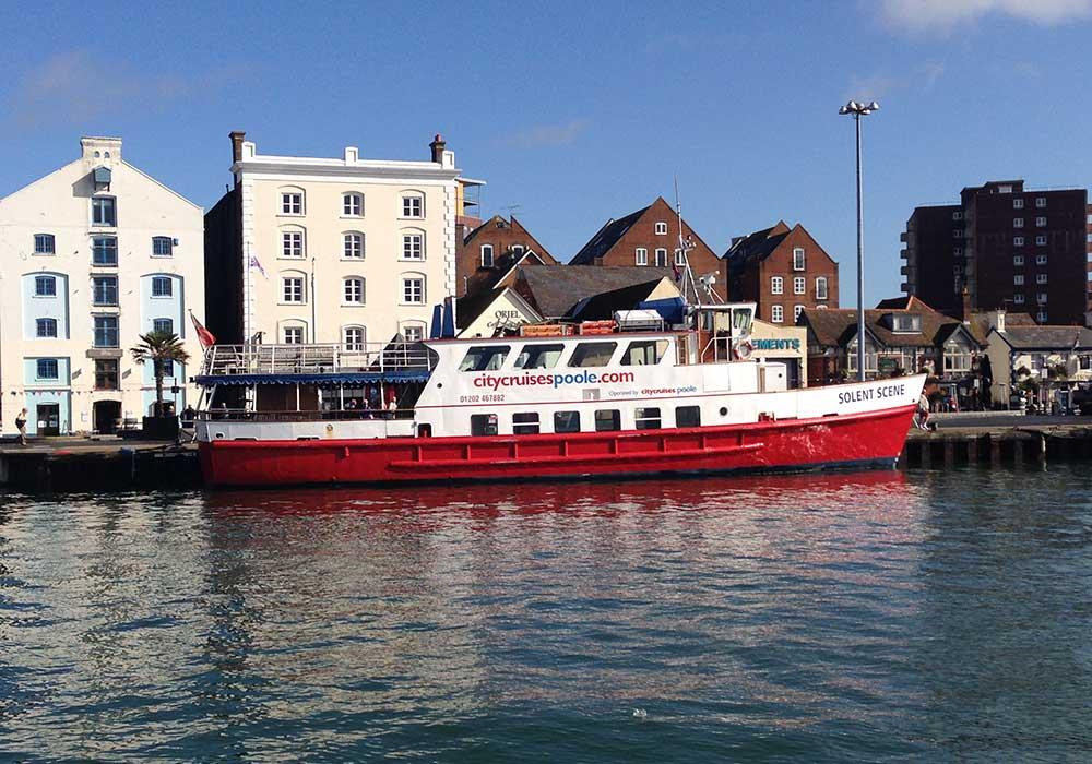 Solent Scene at Poole Quay - City Cruises Poole