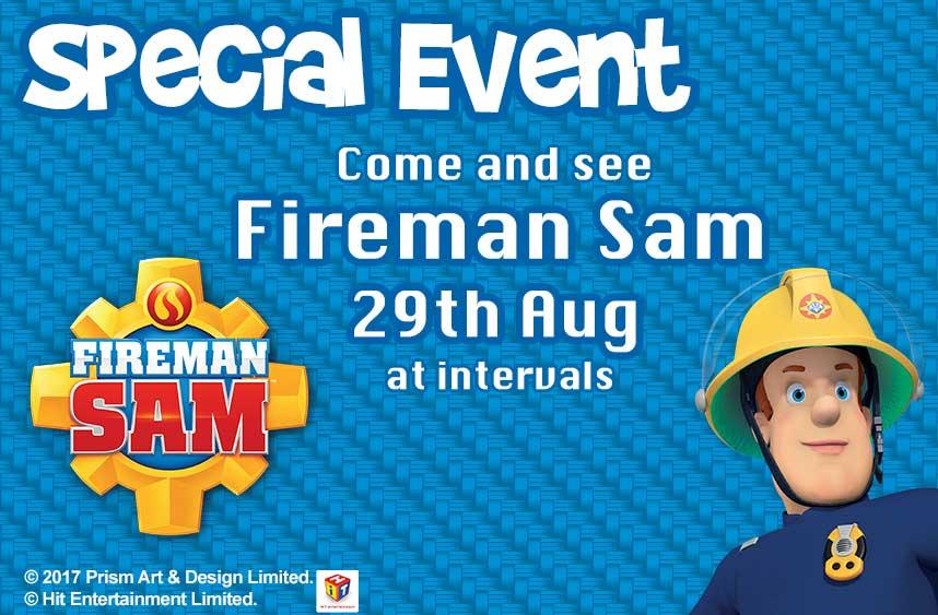 Fireman Sam At Adventure Wonderland On 29th August 2017