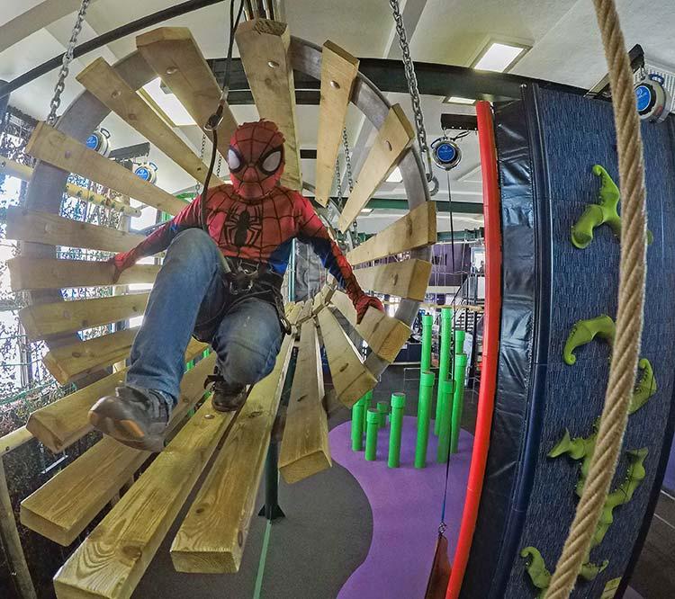Spiderman on the HighLine at Rockreef