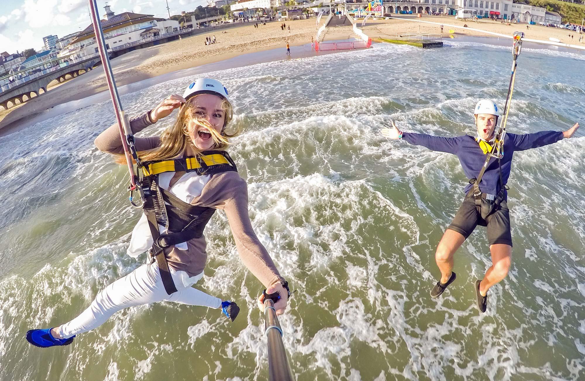 Pierzip & Rockreef at Bournemouth Pier