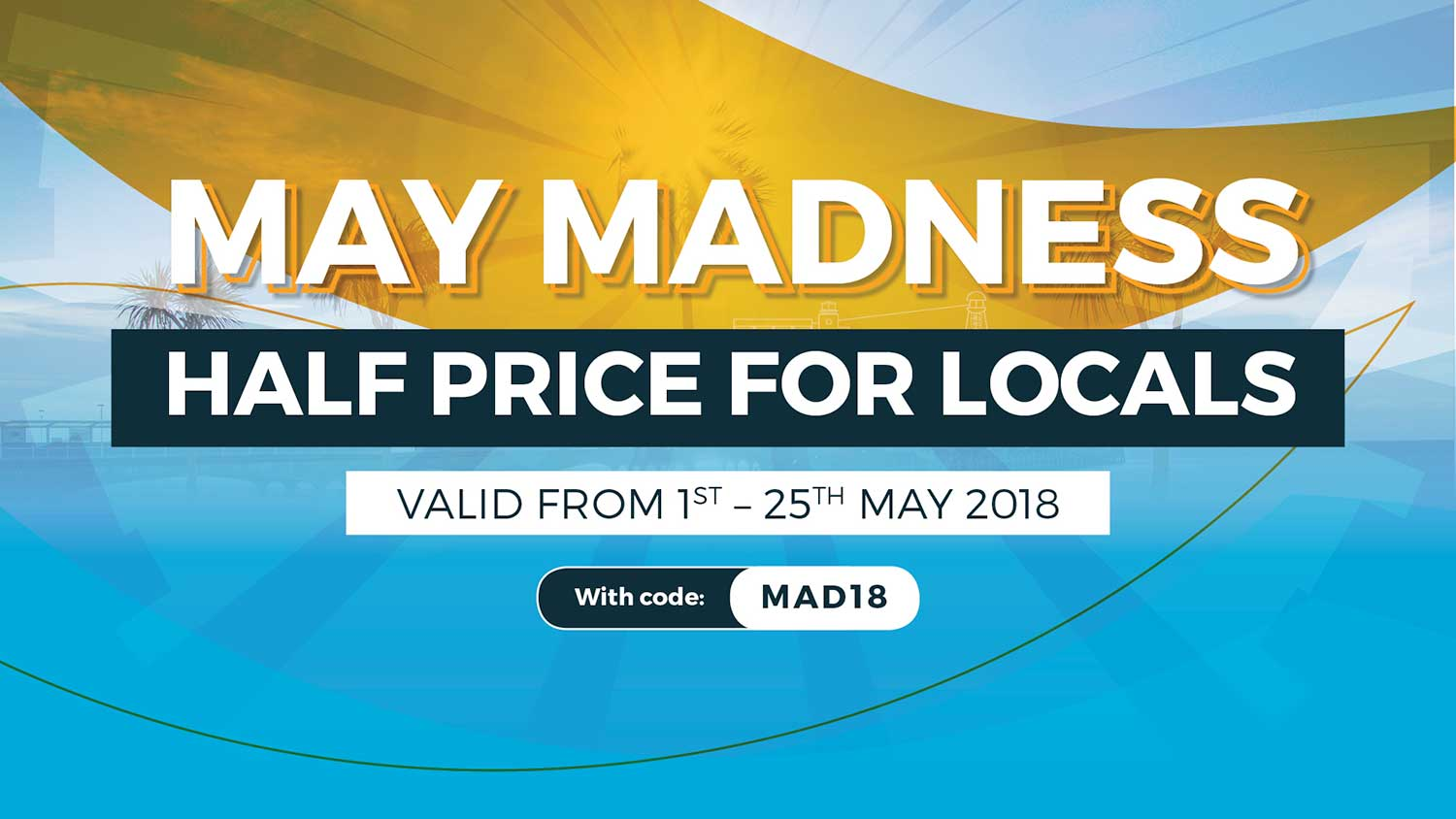 May Madness Special Offers In RockReef!