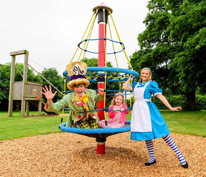 The Bizzy Dizzy at Adventure Wonderland