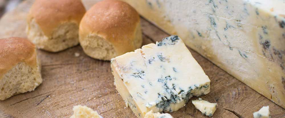 The famous Dorset Blue Vinney Cheese