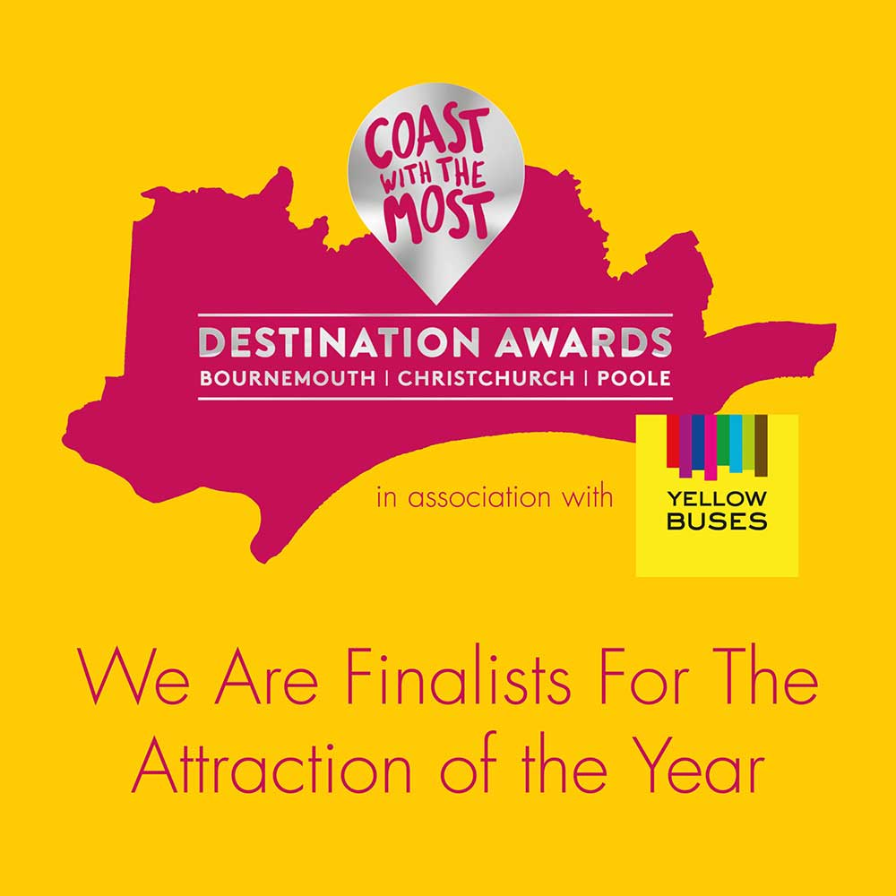RockReef And Pierzip Announced As Finalists Of The Destination Awards Attraction Fo The Year