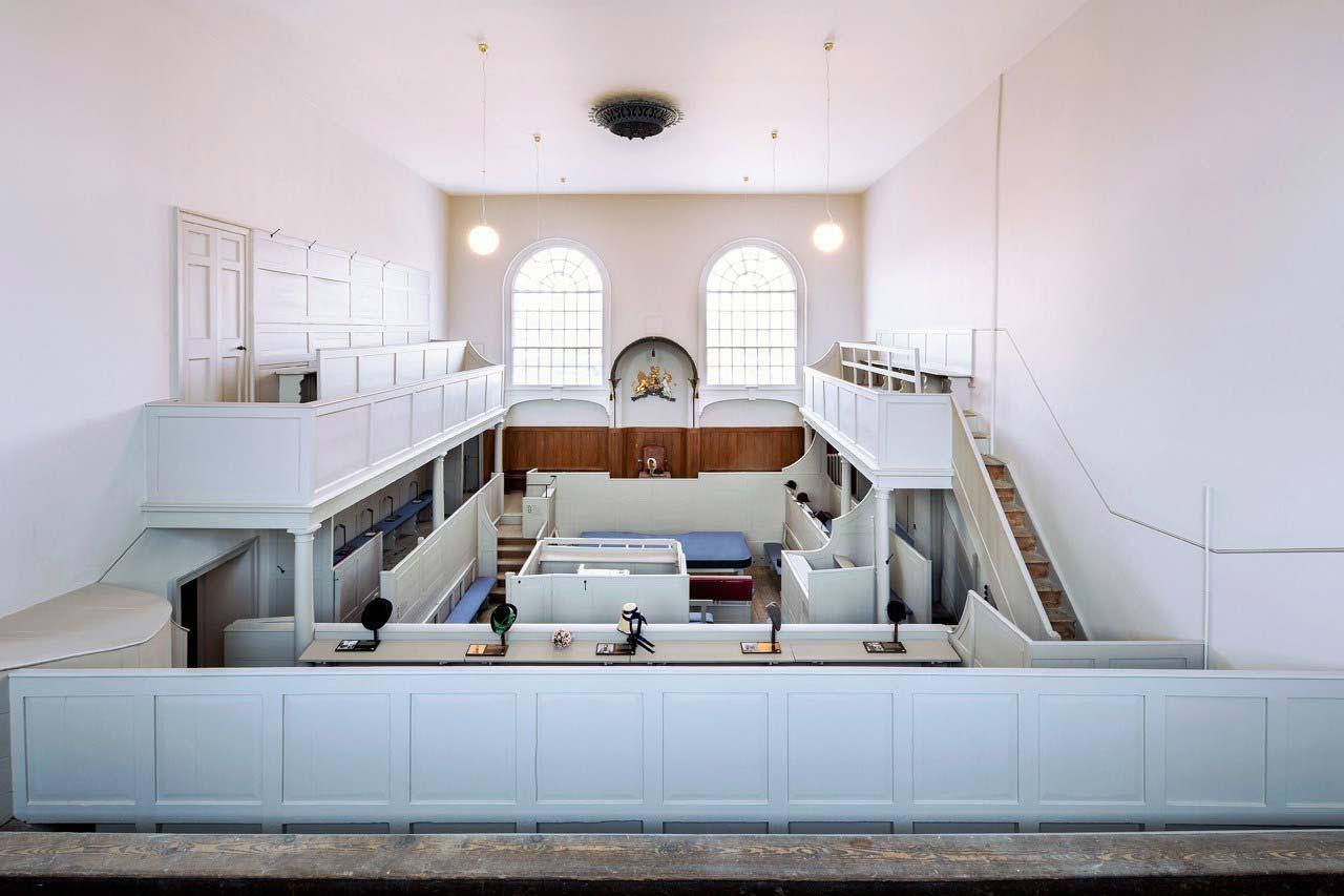 Shire Hall Dorset courtroom