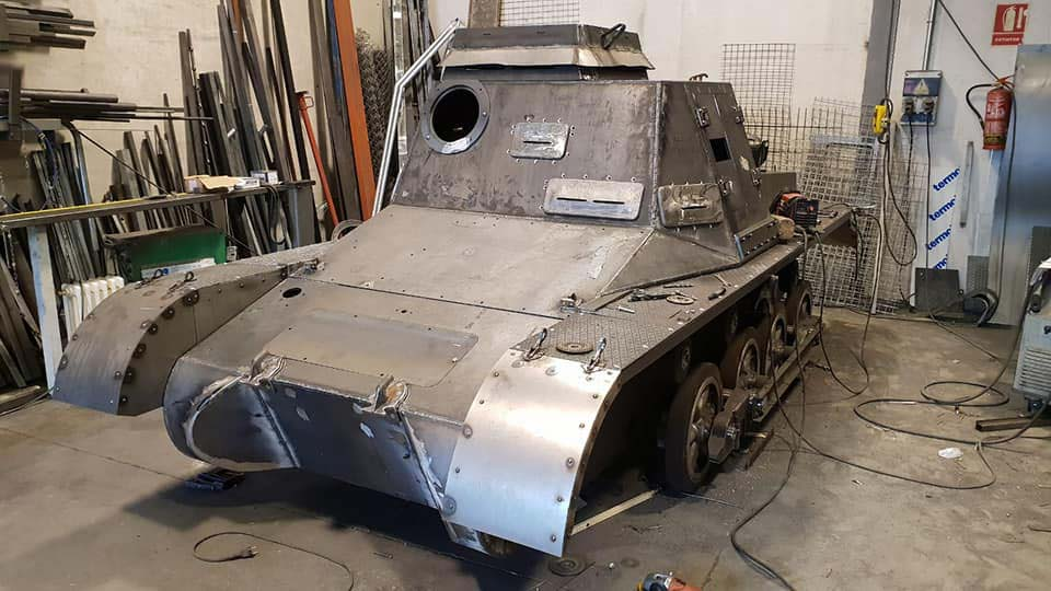 Replica Panzer At The Tank Museum