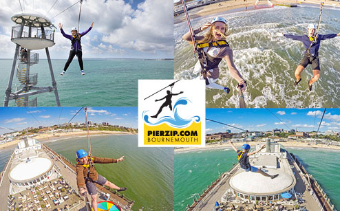 PierZip On Bournemouth Pier Re-opens For Outdoor Fun!